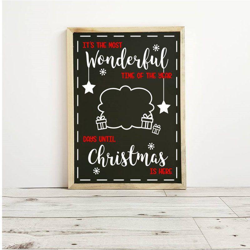 Christmas Countdown Days Until Christmas Christmas