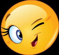 winking smiley sticker