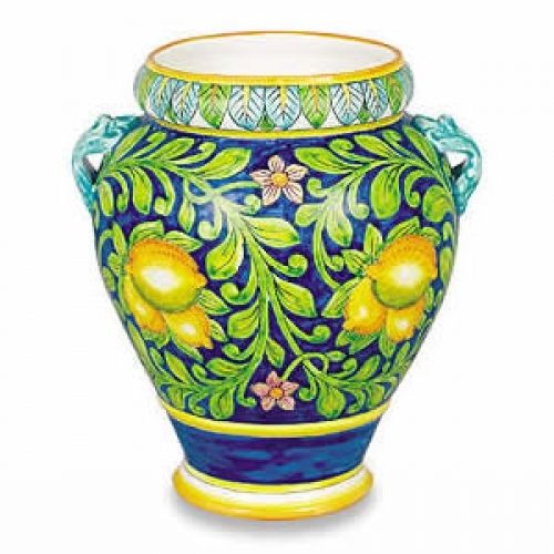 Small Decorative Urns Ornato Small Urn  Lemons 1  Majolica  Pinterest  Small Urns