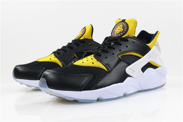 buy online 7aabf 7c3ec Nike Air Huarache City Pack BERLIN Black Yellow White