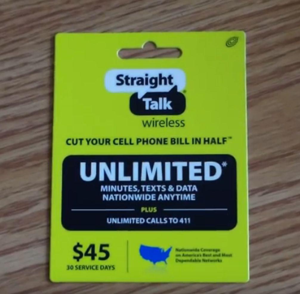 Free unused straight talk service pins 2019