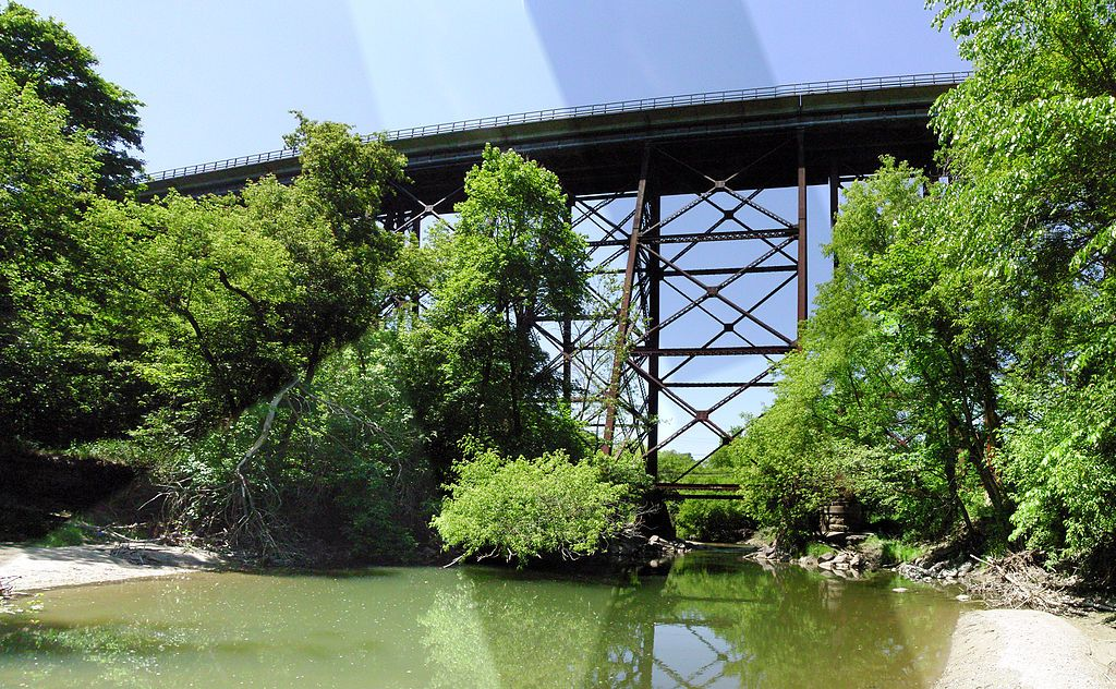CPR East Don Trestle Bridge -