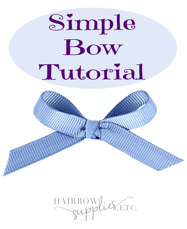 Simple Bow Tutorial