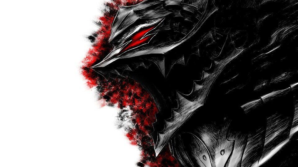 Berserker Armor Manga watercolor, Berserk, Poster prints