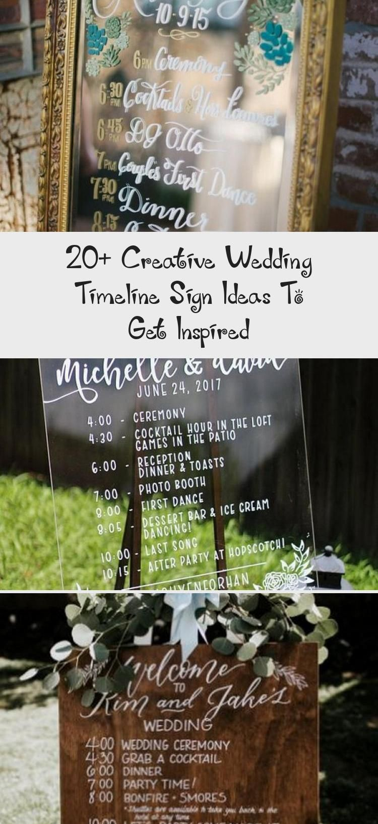 Rustic Wedding Day Timeline Signs For Outdoor Weddings Weddingdetailsgift Weddingdetailsseatingcharts In 2020 Wedding Timeline Wedding Details Mirror Wedding Signs