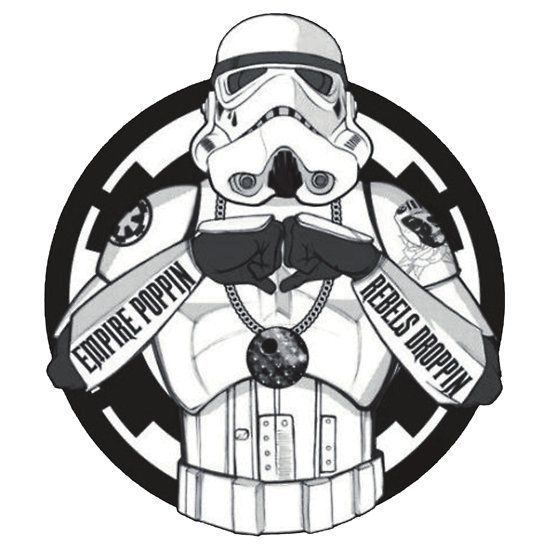 Gangster storm trooper shirt sticker t shirts hoodies by foemerch