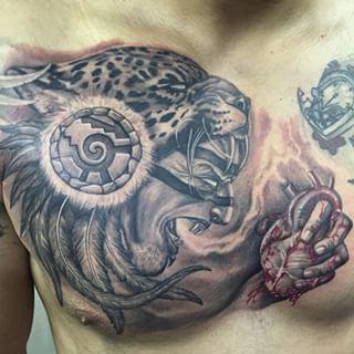 Pin By Chema Rodriguez On Tattoo S Pinterest Tattoos Jaguar Tattoo And Warrior Tattoos