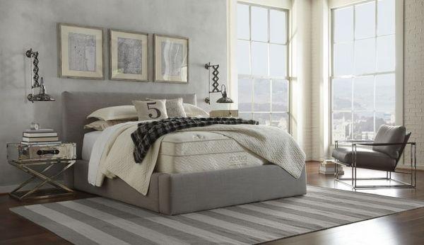 Natürlich Schlafen in einem Schlafzimmer im Natural Cozy