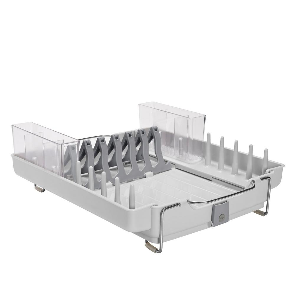 Oxo Good Grips Foldaway Dish Rack 1473480 Dish Racks Good Grips