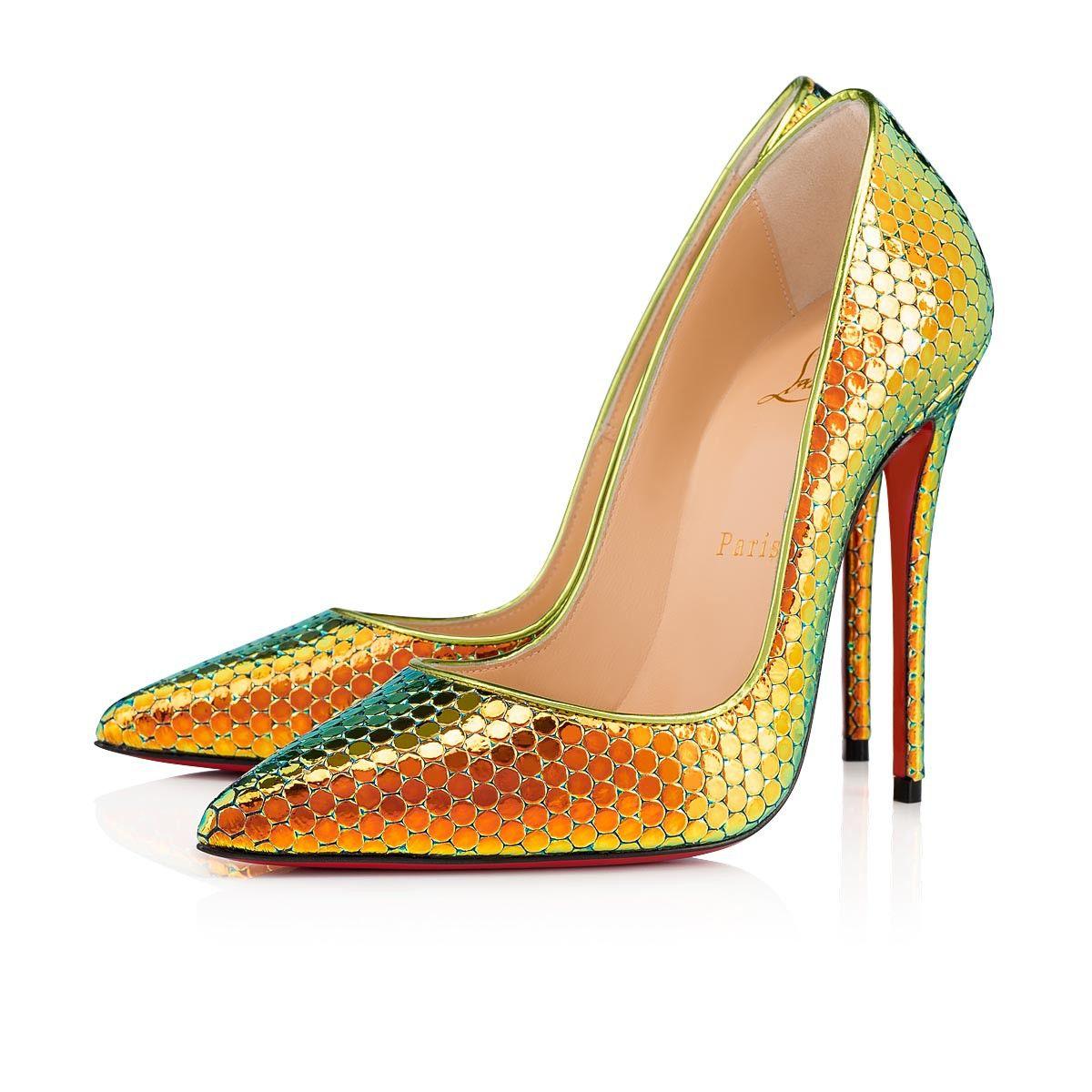dcf9708bf55 So Kate 120 Taiga Specchio Ruche - Women Shoes - Christian Louboutin ...