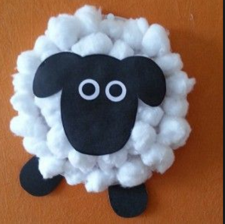 31++ Cotton wool balls craft ideas