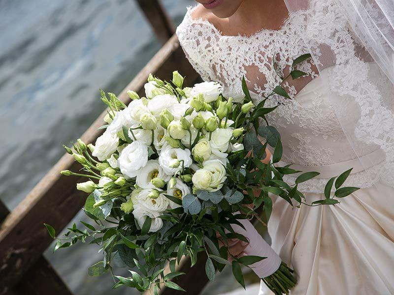 Bouquet white Lisianthus