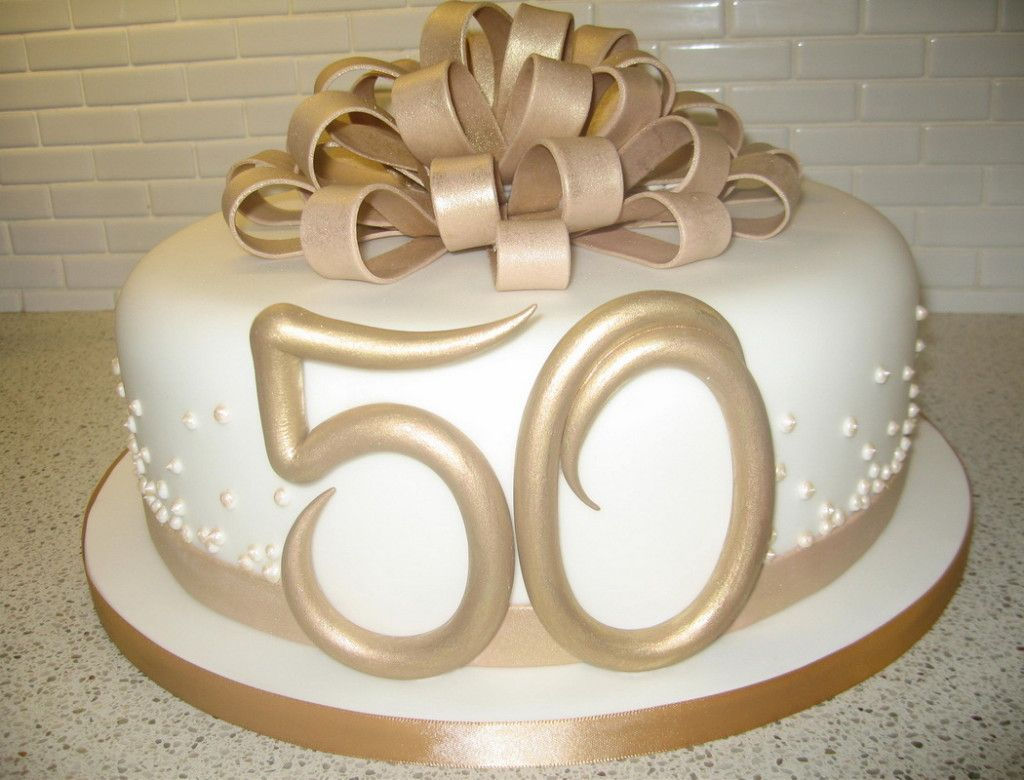 Cake Decoration Ideas50th Wedding Anniversary Square Cakes | Cake ...