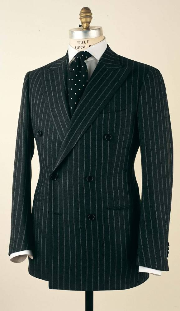 1a0fa043a3ad Cesare Attolini Double - Breasted suit   Sense of style   Pinterest ...