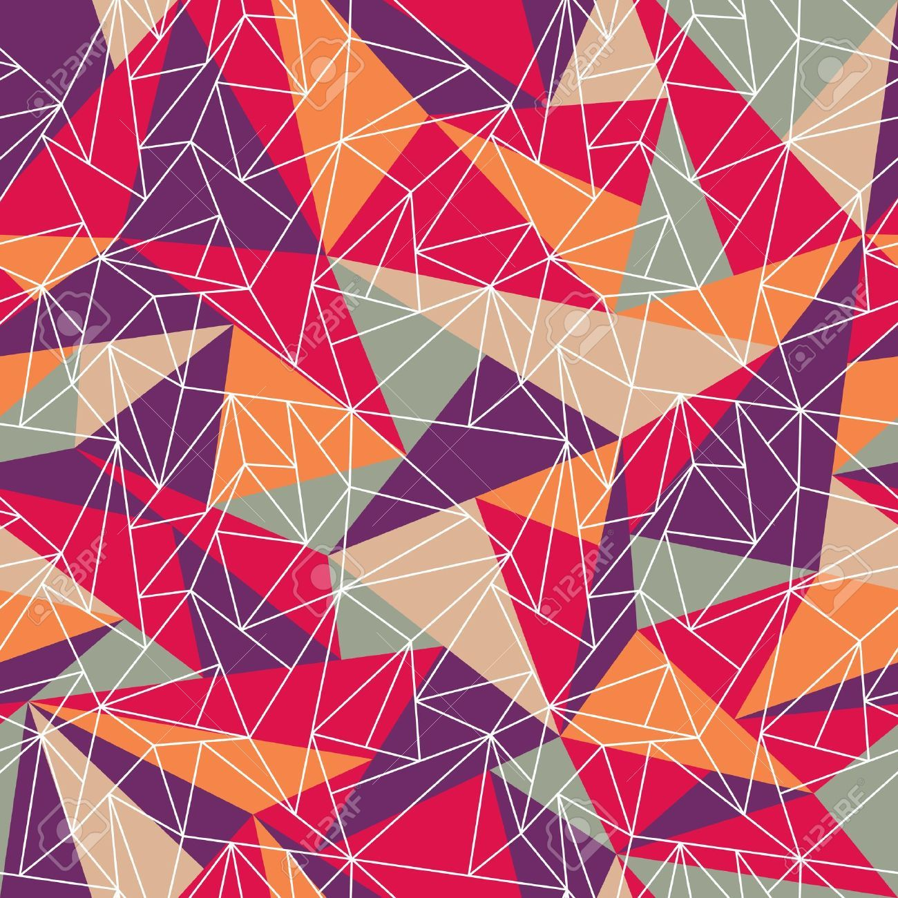 18366712 Abstract Geometric Colorful Pattern Background Great For