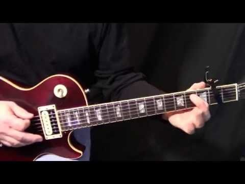 How To Play Run To You By Bryan Adams On Guitar Rhythm Solo