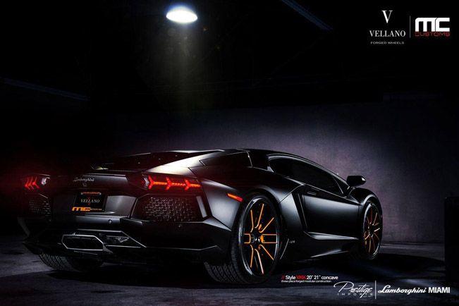 Lamborghini Aventador Lp700 4 With Vellano Alloys Black Car Wallpaper Sports Car Wallpaper Car Wallpapers