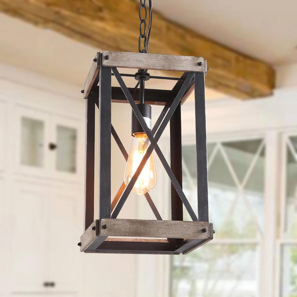 wooden pendant lighting rustic pendant