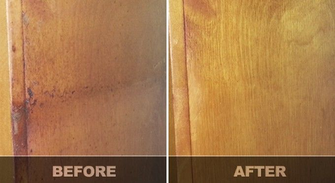 Remove Greasy Buildup From Wood Cabinets Cleaning Wood Cabinets