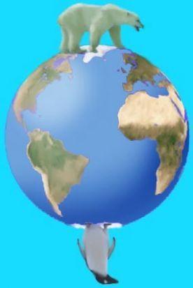 afbeeldingsresultaat voor noordpool en zuidpool