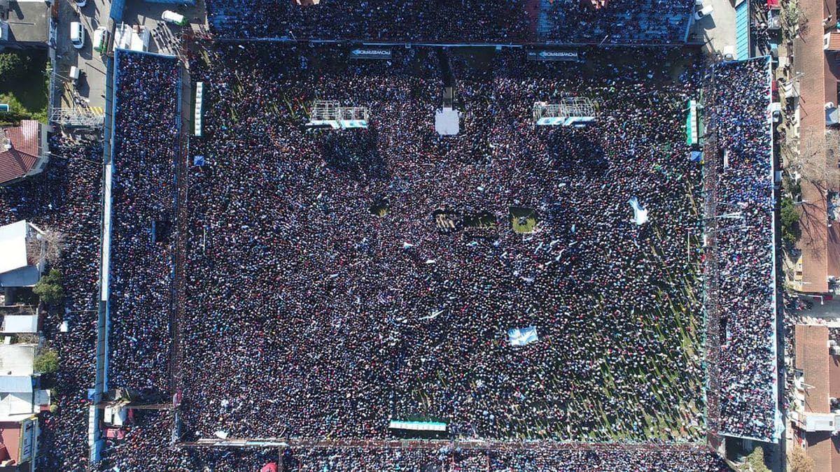 Ante una multitud, Cristina Kirchner lanzó el frente Unidad ...