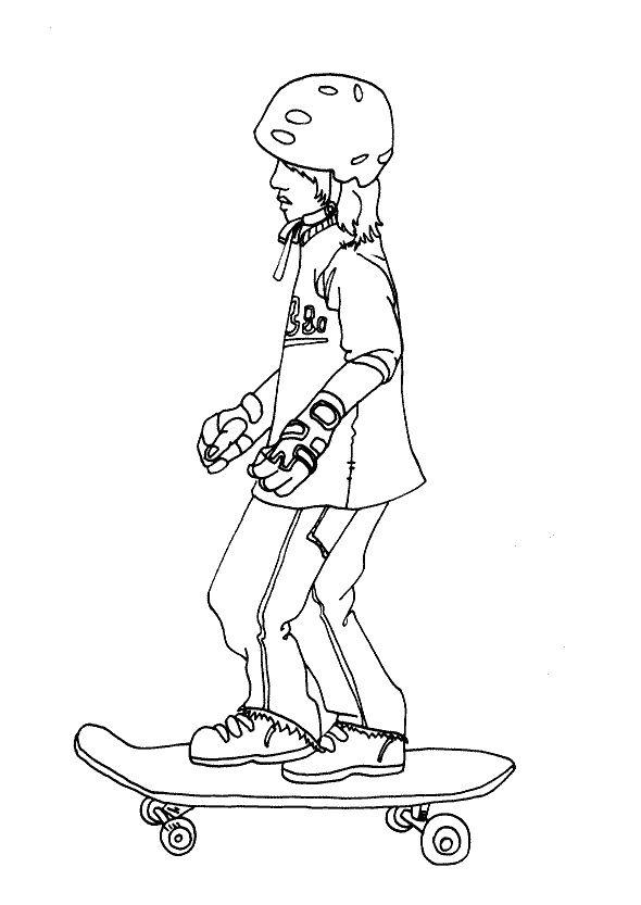 Dibujos para Colorear Deportes 28 | Dibujos para colorear para niños ...