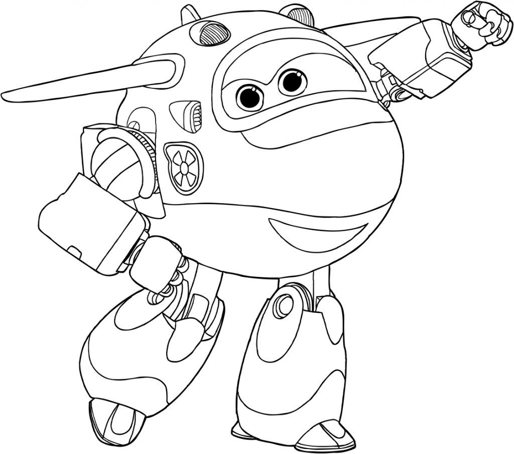 Super Wings Coloring Pages Best Coloring Pages For Kids Coloring Pages For Kids Coloring Pages Cartoon Coloring Pages