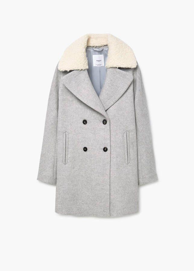 Veste manteau femme mango
