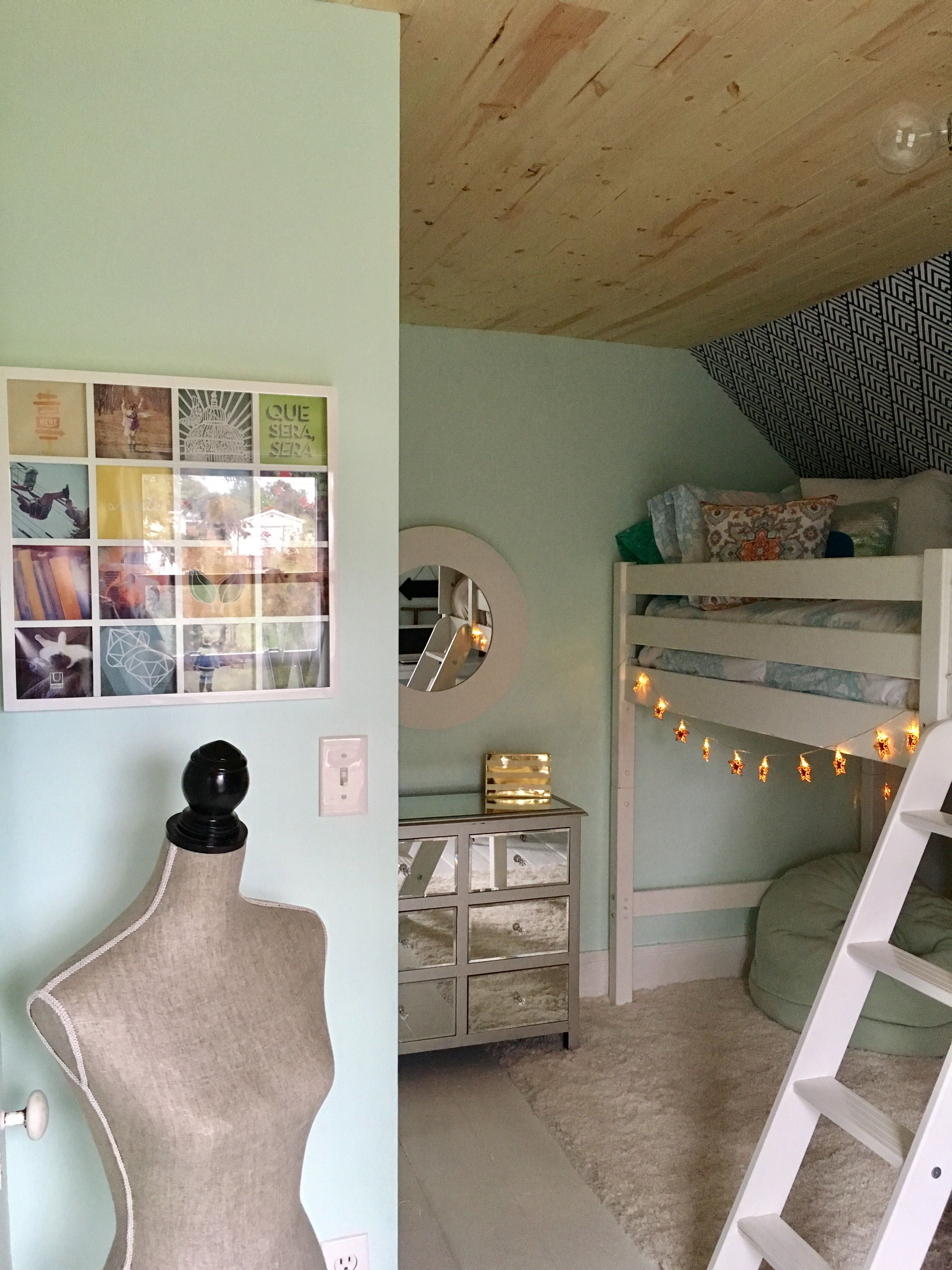 Offset window behind bed  pin by julie leighton on addieus room  pinterest  room