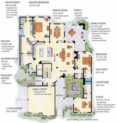 Three bedroom english cottage hwbdo72419 english for Builderhouseplans com
