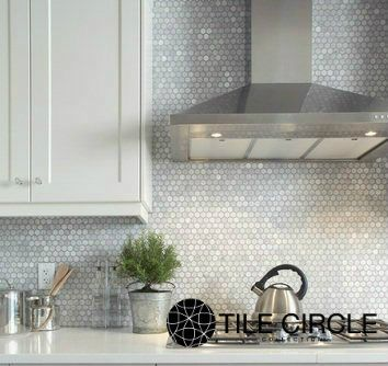 Carrara Polished 1 Hexagon Backsplash Tile For Backsplashes And Bathroom Tilecircle