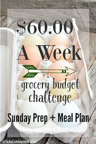 $60.00 A Week: Sunday Meal Prep + Weekly Meal Plan images
