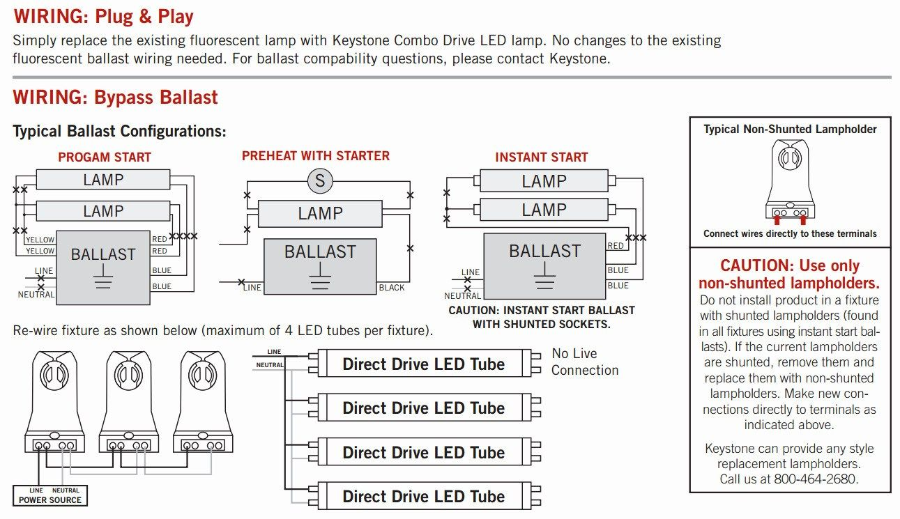 T8 Led Tube Wiring Diagram With Images Led Tubes T5 Led T8