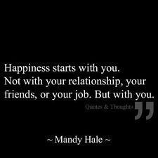 Love Quote – happiness is YOU…