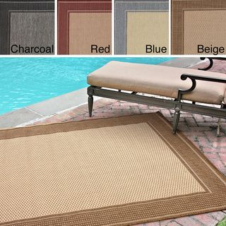 RED       nuLOOM Outdoor / Indoor Rug (9' x 12') | Overstock.com Shopping - Great Deals on Nuloom 7x9 - 10x14 Rugs