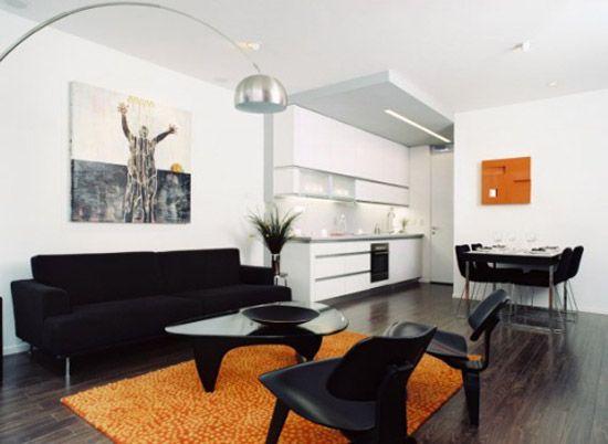 Elegante Wohnzimmer Mit Schwarz Möbel Ideen - das Wohnzimmer, Das