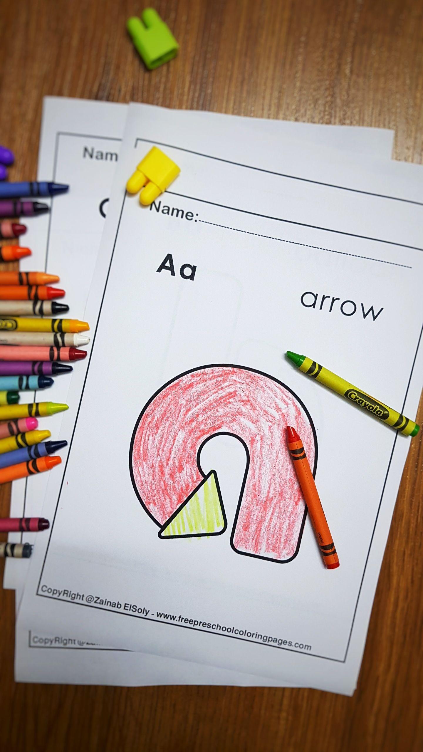 Letter A Arrow Abc Lowercase Letters Alphabet Creative Abc
