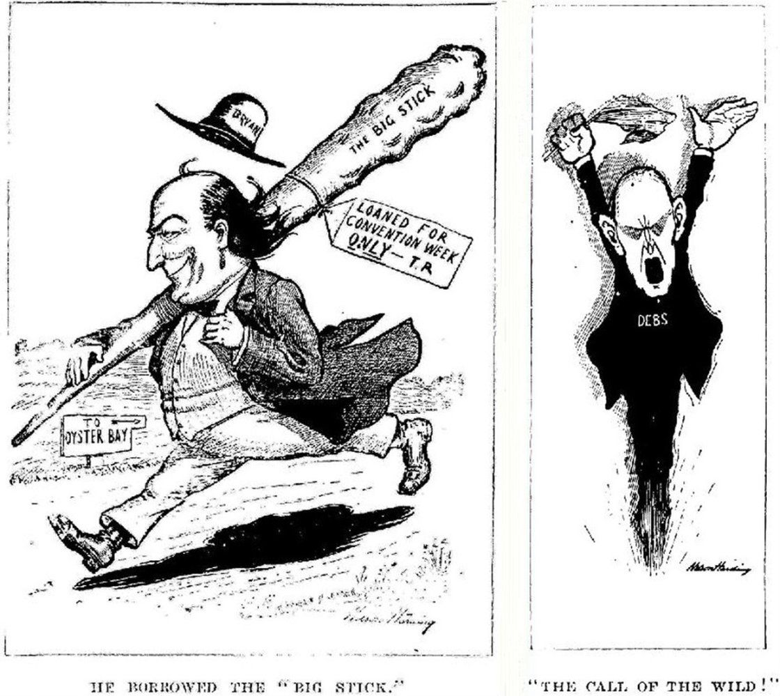Double Take 'Toons: 1912 Wilson And The Rest