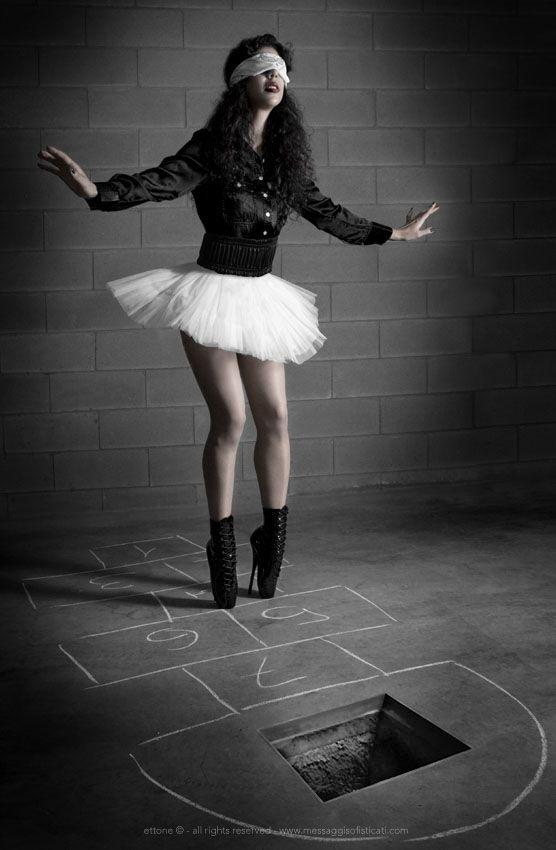 Heels Ballerina Blindfold Skirt White Ballet In QdCrBosxth
