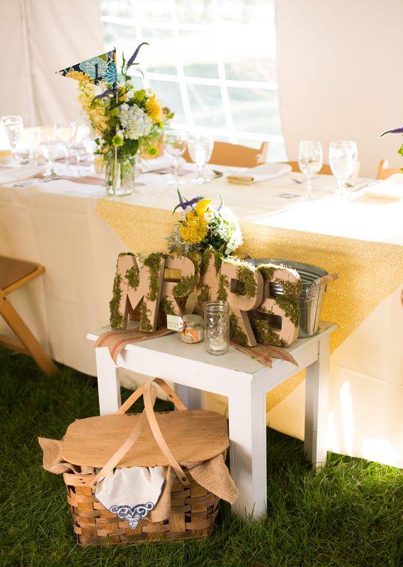 Vintage Wedding Picnic Headtable Celebrations Durango Planner