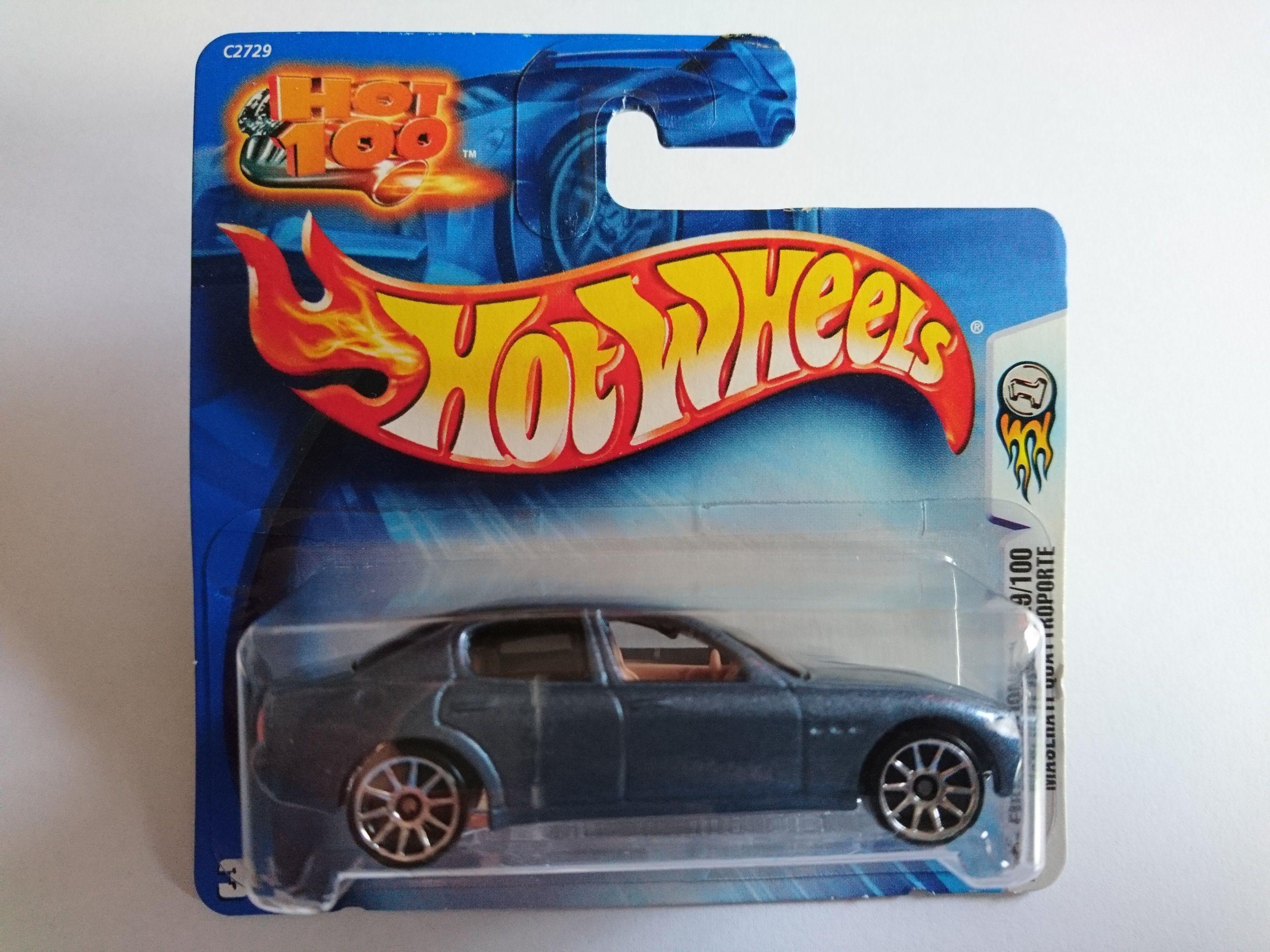 2004 - MASERATI Quattroporte (Hot Wheels)