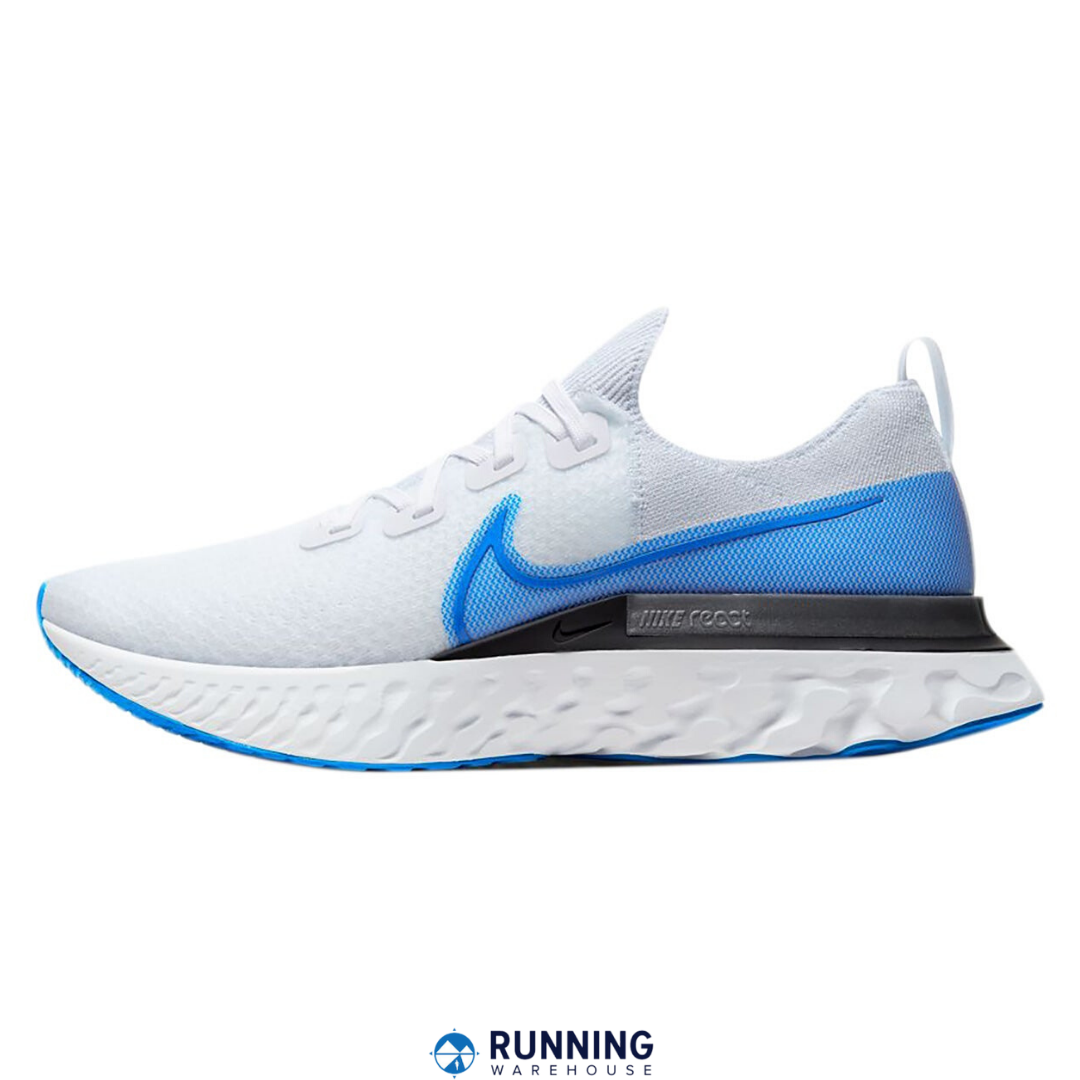 Nike Odyssey React Flyknit 2 Schuhe Laufschuhe Running Jogging Herren Blau