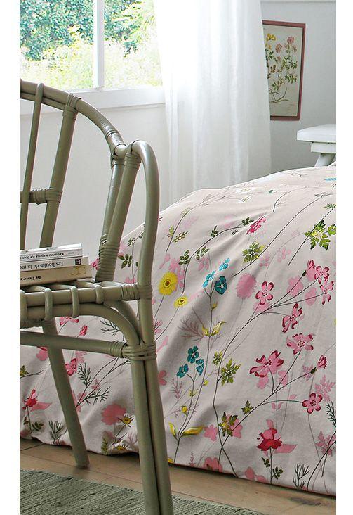 ambiance bucolique pour la parure de lit katrina blancheporte