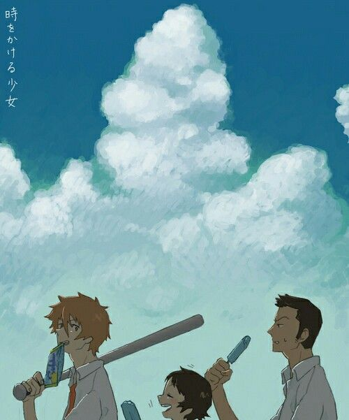 The Girl Who Leapt Through Time Anime Films Japanese Animated Movies Anime