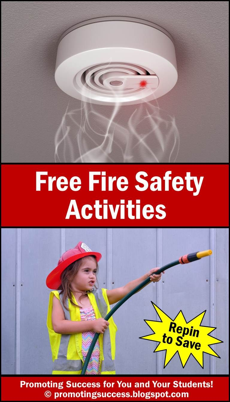 Fire Safety Week Activities for Kids Fire safety for