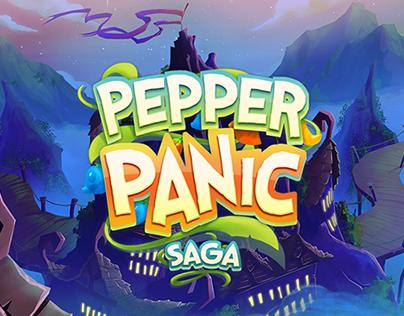 Background Art For Pepper Panic Saga As A Game Artist At King Art Artist Saga