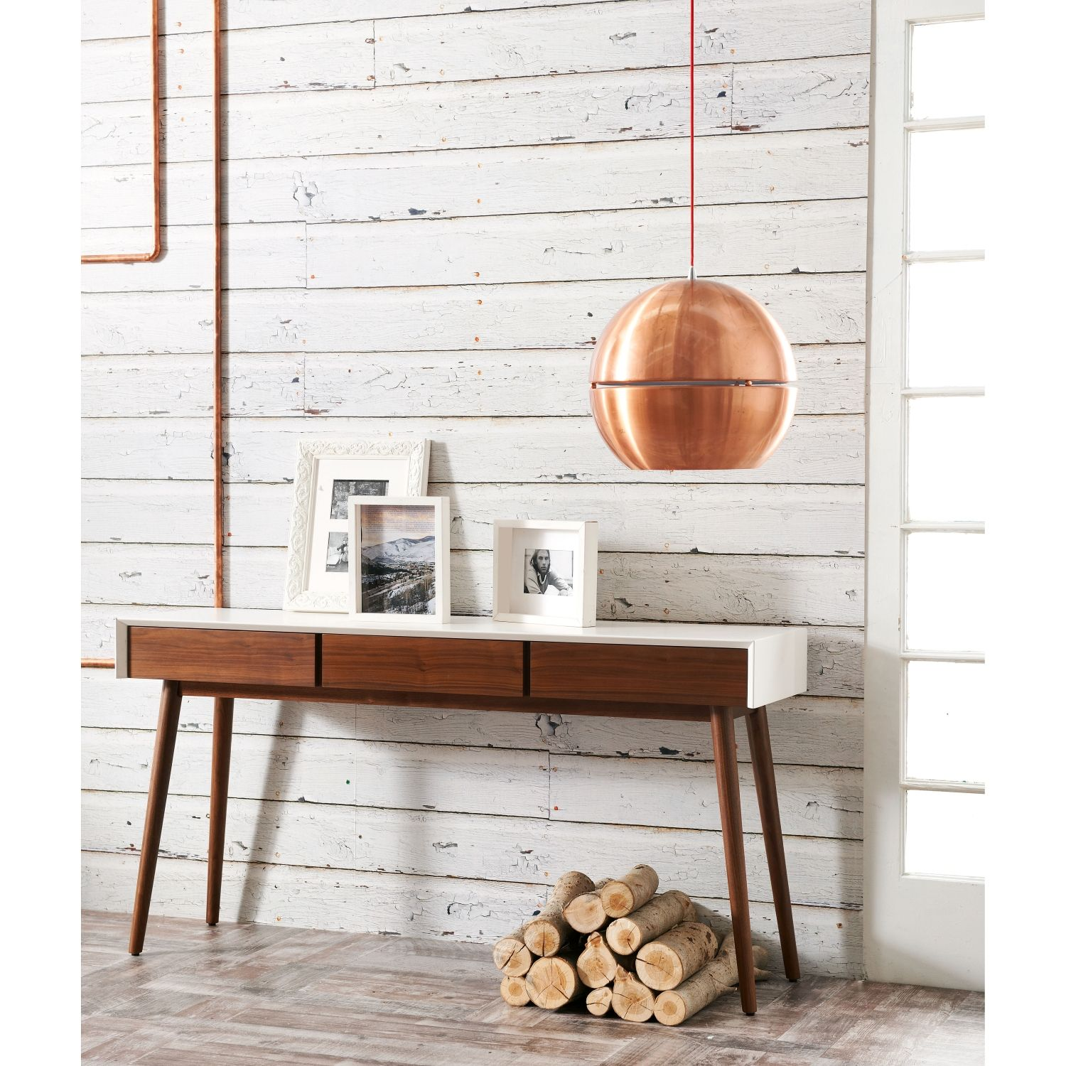 Metro Console Table Domayne line Store $1099