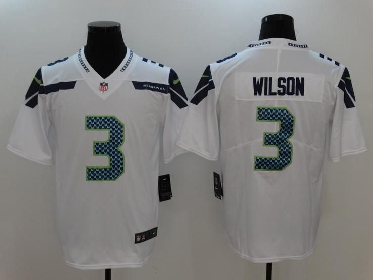 half off c7968 895ab Men 03 Russell Wilson Jersey Football Seattle Seahawks ...