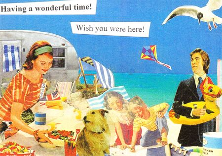 Image result for having a wonderful time wish you were here