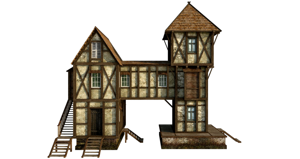 medieval house 1 png by fumar porros banque image batiments m di vaux pinterest medieval. Black Bedroom Furniture Sets. Home Design Ideas